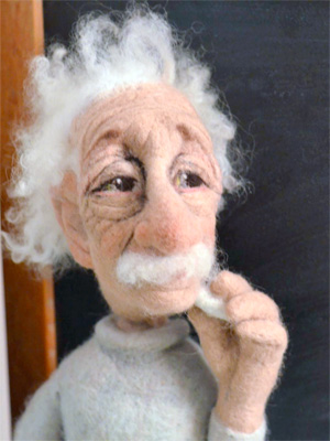 Ричард ХАННА (Richard Hanna). Скульптурный войлок.