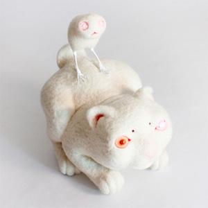 Зои УИЛЬЯМС (Zoe Williams). Скульптурный войлок.