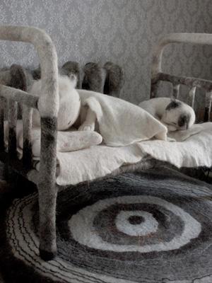Ирина АНДРЕЕВА. Скульптурный войлок.