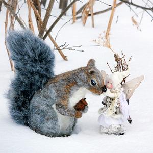 Фиби КАПЭЛЛЬ (Phoebe Capelle). Скульптурный войлок.