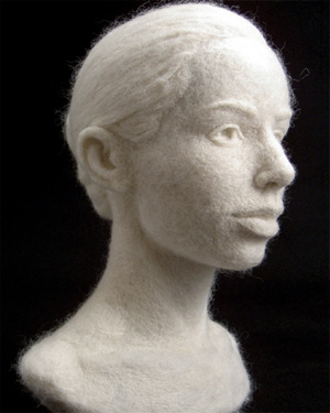Стефани МЕТЦ (Stephanie Metz). Скульптурный войлок.