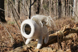 Ксения ШИНКОВСКАЯ. Скульптурный войлок.