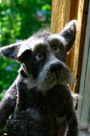 Катя КОЗУНЕНКО. Скульптурный войлок.