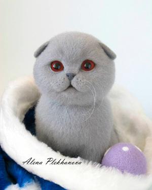 Алёна ПЛЕХАНОВА. Скульптурный войлок.