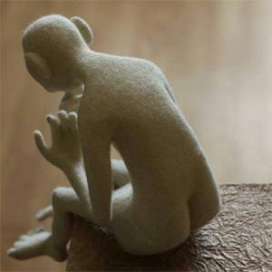 Инга МИЛЯУСКАЙТЕ (Inga Miliauskaite). Скульптурный войлок.