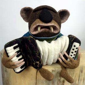Миш АЙДАЦКИ (Misz Ajdacki). Скульптурный войлок.