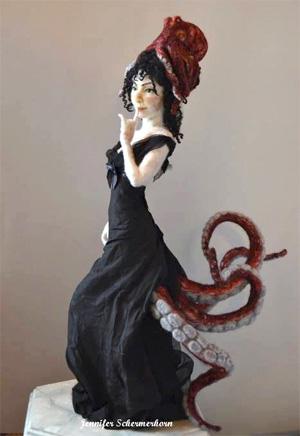Дженнифер ШЕРМЕРХОРН (Jennifer Schermerhorn). Скульптурный войлок.