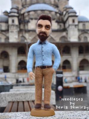 Дениз ДЕМИРАЙ (Deniz Demiray). Скульптурный войлок.