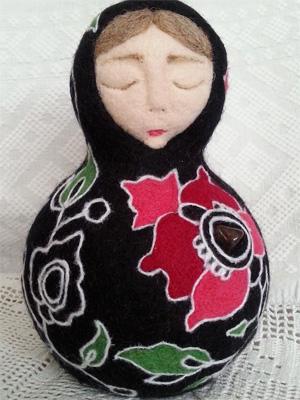 Мария ГЕРАСИМОВА. Скульптурный войлок.