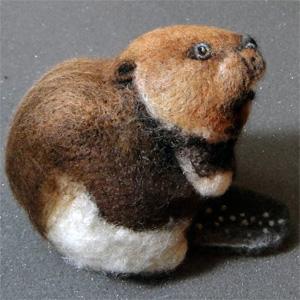 Сара ДЕЖАРДИН (Sara Desjardins). Скульптурный войлок.